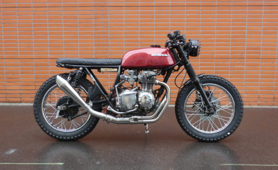Tom Racing Designs - Cafe racer - Scrambler - Flat - Brat